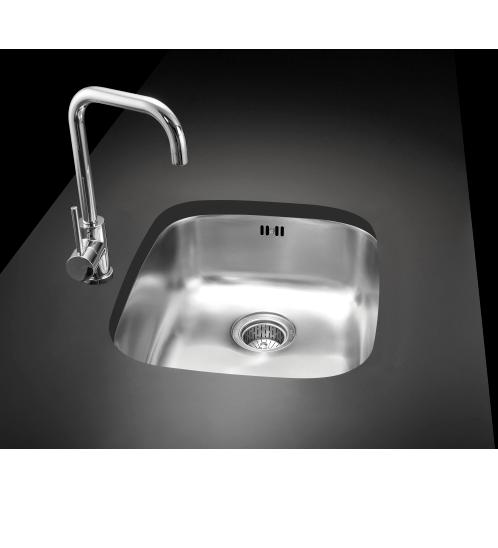 MEX อ่างล้างจาน 1 หลุมไม่มีที่พัก MU47B