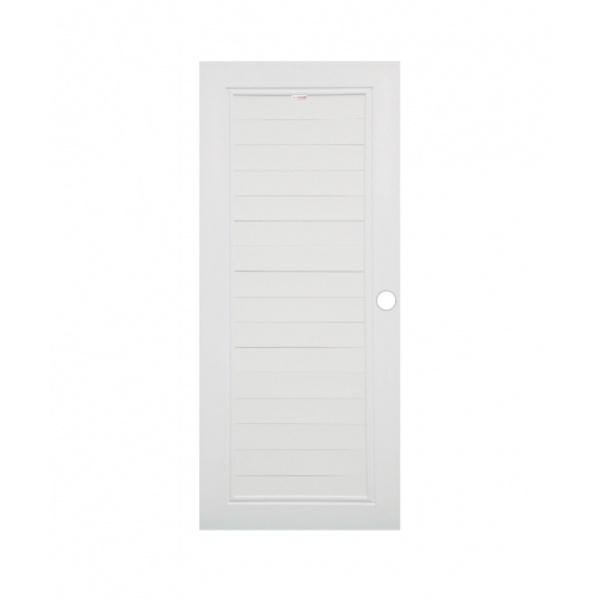 CHAMP ประตูแชมป์ UPVC (80x200)  MUi-1 สีขาว