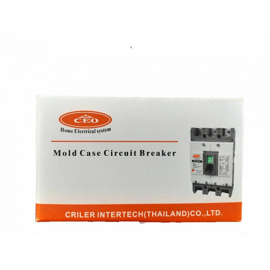 CEO เบรกเกอร์ 3 สาย   200A NF250-CW CEO