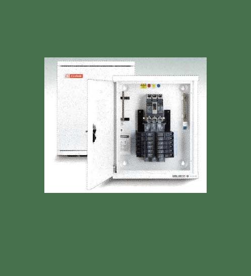 CHANG ตู้โหลดเซ็นเตอร์ 24ช่อง (3P) MB-24 พร้อมเมน 100A ช้าง MB-24 100A สีเทา