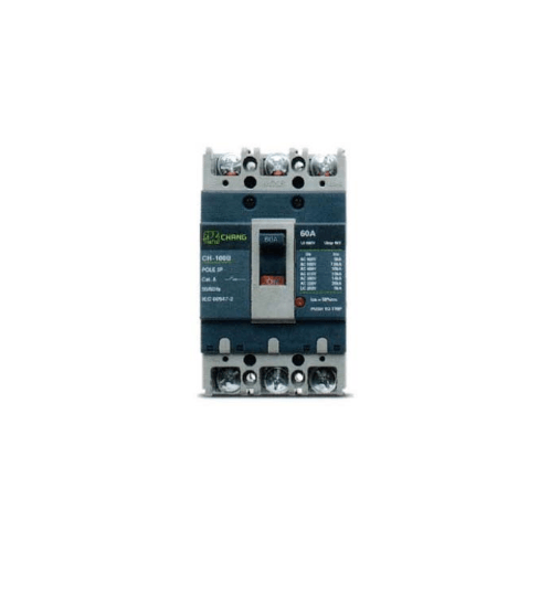 CHANG เมนเบรกเกอร์ 3P 80A ช้าง MCCB CH-100B 3P80A
