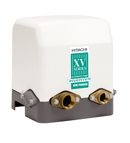 HITACHI ปั้มน้ำอัตโนมัติ  อินเวทเตอร์ ขนาด 400 วัตต์ WMP400XV สีเทา