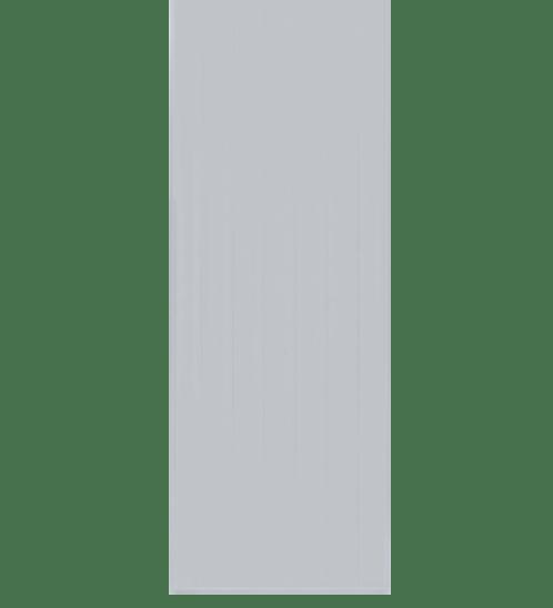 BATHIC ประตูพีวีซี ขนาด 89x199 ซม.  ไม่เจาะรูลูกบิด BC1 สีเทา
