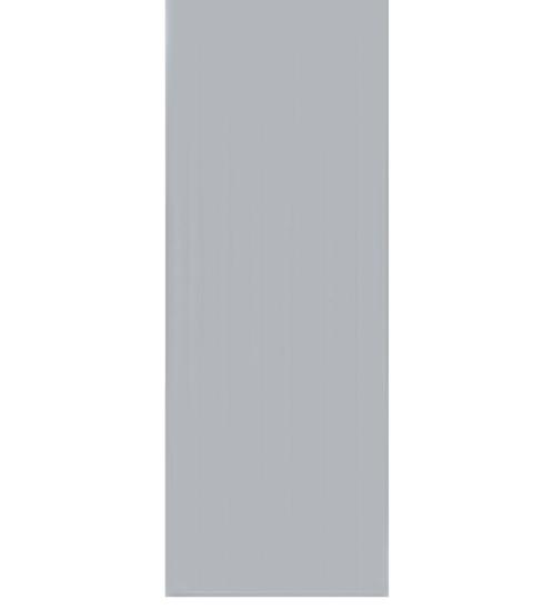 BATHIC ประตูพีวีซี BC1 69.4x189.4ซม. (ไม่เจาะรูลูกบิด) สีเทา