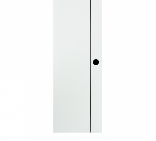 BATHIC ประตูยูพีวีซี ขนาด 70x180ซม. (เจาะรูลูกบิด) BG1 สีขาว