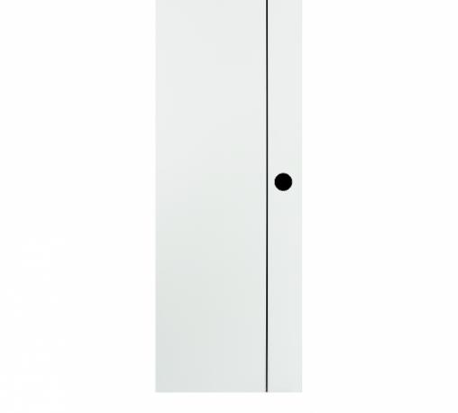 BATHIC ประตูยูพีวีซี ขนาด 70x200ซม. (เจาะรูลูกบิด) BG1 สีขาว