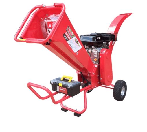 POLO เครื่องย่อยกิ่งไม้ 60MM พร้อมเครื่องยนต์เบนซิน 6.5 HP 4 จังหวะ CSV-650  สีแดง