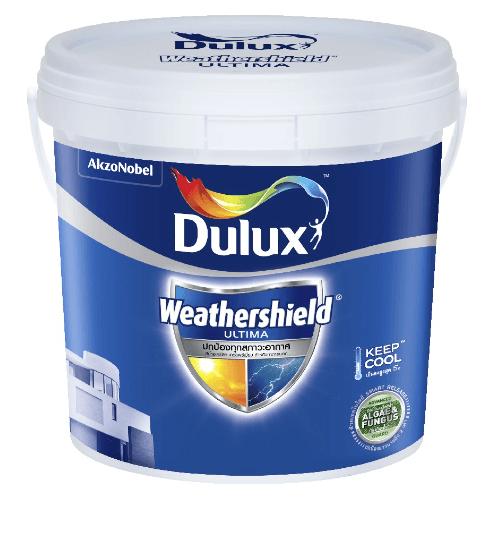 Dulux ดูลักซ์เวเธ่อร์ชีลด์อัลติม่า(กึ่งเงา)เบส A 3L Weathershield Ultima (Semi-Gloss)