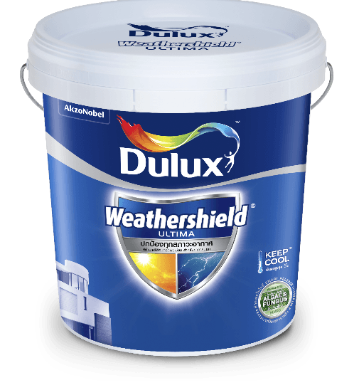 Dulux ดูลักซ์เวเธ่อร์ชีลด์อัลติม่า(กึ่งเงา) เบส C  9L Weathershield Ultima (Semi-Gloss)
