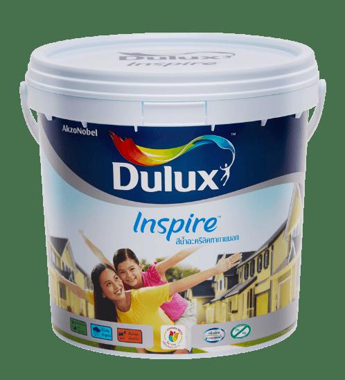 Dulux สีน้ำผสมภายนอก เบส A Inspire Exterior ขาว