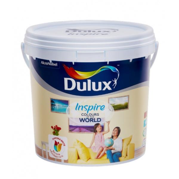 Dulux ดูลักซ์อินสไปร์ภายใน กึ่งเงา เบสA 3L INSPIRE