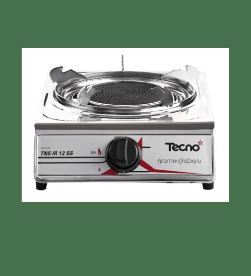 TECNO* เตาแก๊ส 1 หัว  TNS IR12 SS