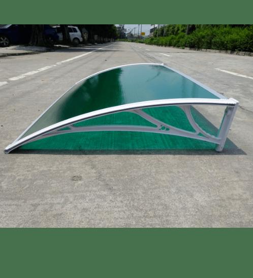 Wellingtan ชุดกันสาด ขนาด 1000x1200mm  NWT08-1 สีเขียว