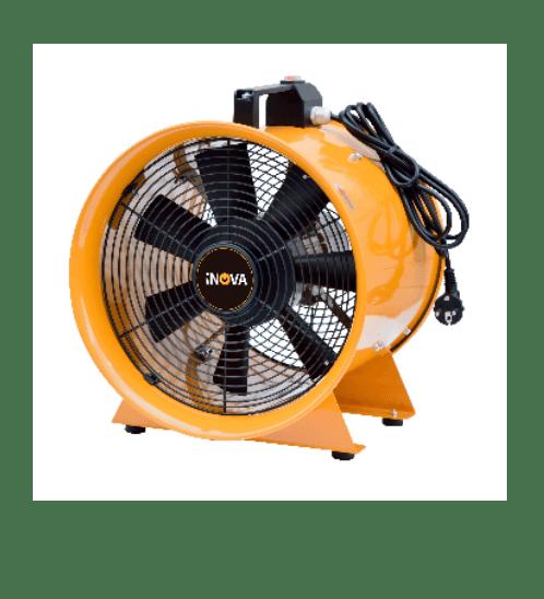 พัดลมดูดอากาศ 12 นิ้ว PVT-30  เหลือง