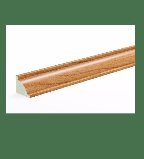 GREAT WOOD ไม้บัวครอบมุม PVC รุ่น FCN-0183A 18x15x2700mm. CH01 GREATWOOD  คละสี