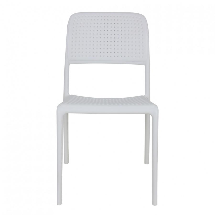 Pulito  เก้าอี้พลาสติก ขนาด 57x48.7x86ซม.  PP-695-W02 สีขาว