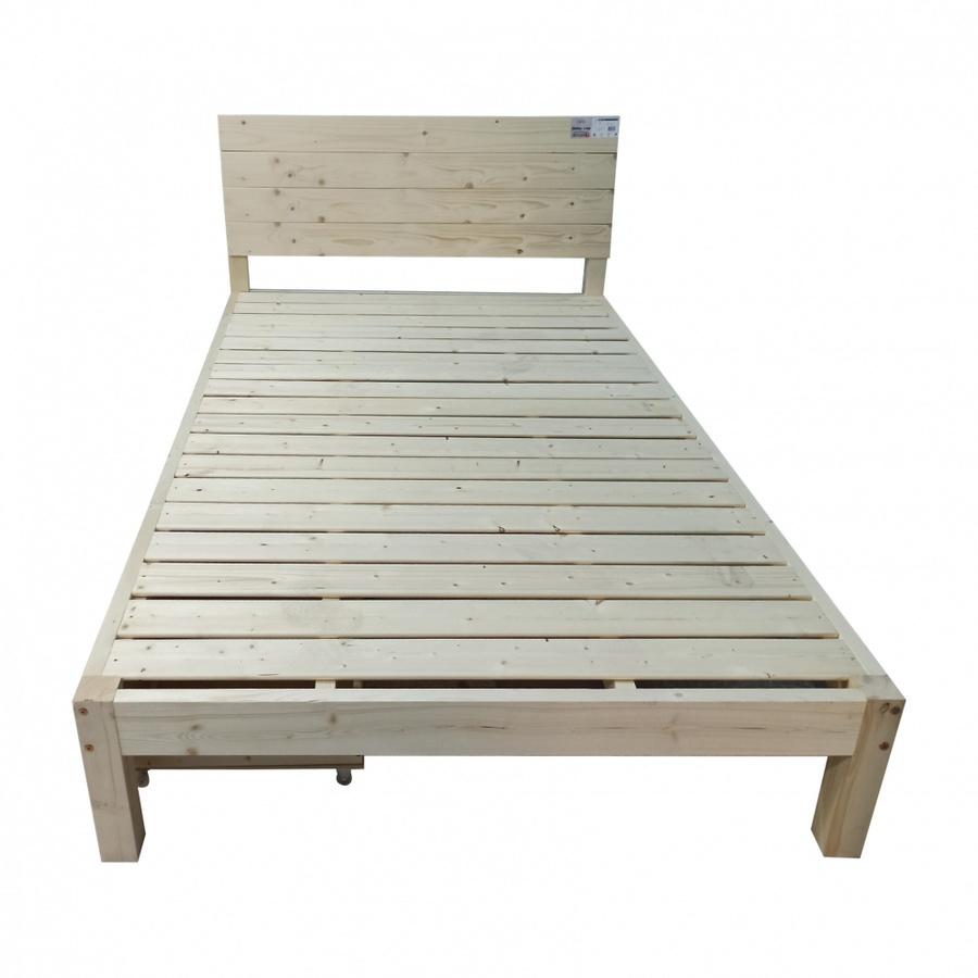 Delicato เตียงไม้สน 3.5ฟุต พร้อมลิ้นชัก NORWAY