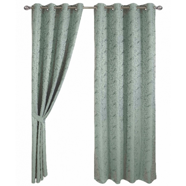 Davinci ผ้าม่านหน้าต่าง ขนาด  150x160ซม.   Berde สีเขียว