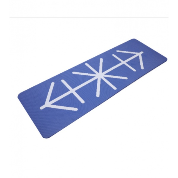 FORTEM เสื่อโยคะ NBR ขนาด 173x61ซม. หนา1.5ซม. ARK-YM-03  สีน้ำเงิน