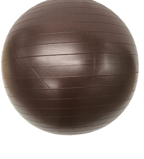 FORTEM ลูกบอลโยคะ 75 ซม.  พร้อมที่สูบลม ARK-AB-75BN สีน้ำตาล