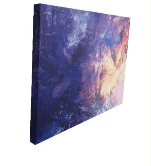 NICE รูปภาพพิมพ์ผ้าใบ Abstract ขนาด 70x50 ซม. (ก.xส.) C7050-23