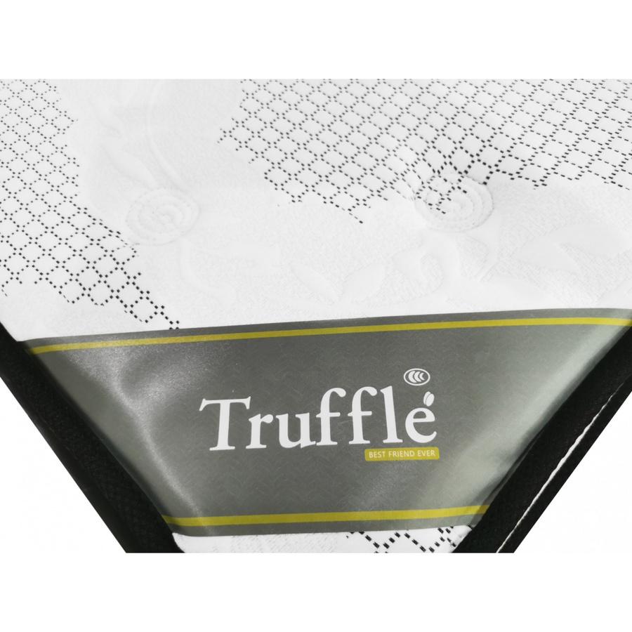 Truffle ที่นอน Pocket Spring เสริมยางพารา  6ฟุต หนา12 นิ้ว รับประกัน 15ปี Ratex