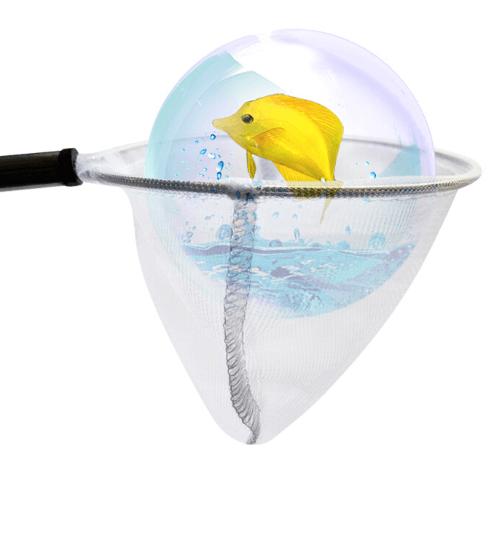 BOYU กระชอนตักปลา ขนาด 5 นิ้ว RF-5 ขาว