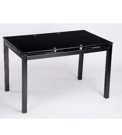 Pulito โต๊ะปรับขยายได้ BANYAN  BK  สีดำ