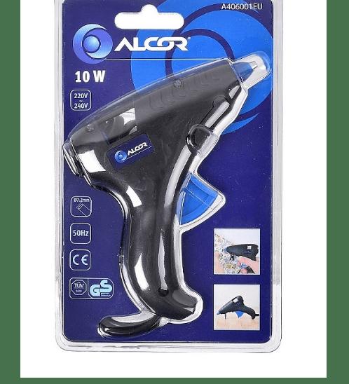 ALCOR ปืนยิงกาวแท่ง 10W. A406001EU สีดำ