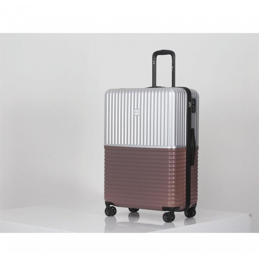 WETZLARS กระเป๋าเดินทาง PC ขนาด 24 นิ้ว A-9623S-2 สีน้ำเงิน