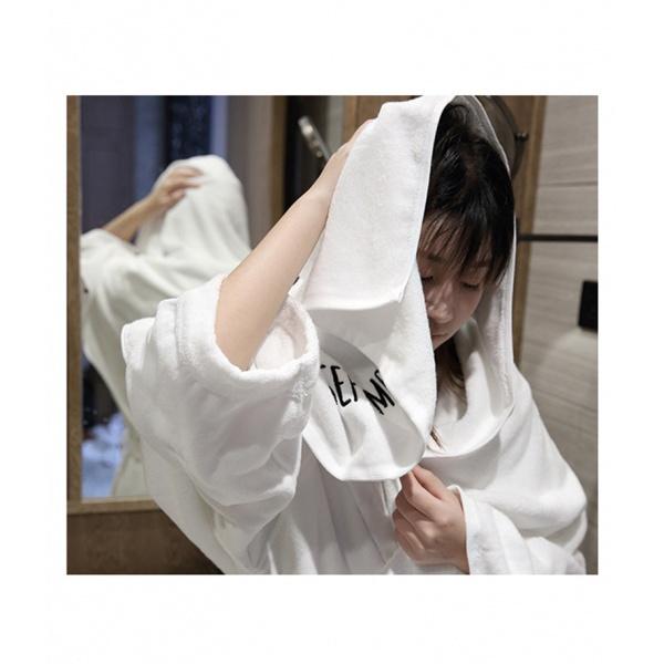 COZY  ผ้าเช็ดหน้า ขนาด 35×75×0.4ซม.  LY01 สีขาว