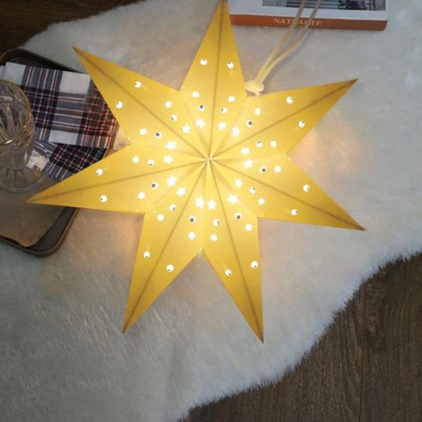 COZY ไฟประดับตกแต่งคริสต์มาส  ขนาด 30×30ซม.  SY07 สีขาว
