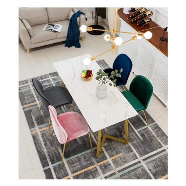 Pulito  เก้าอี้ 52.5×50×89cm  SQ010 สีฟ้า