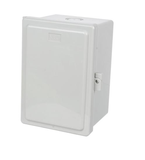 V.E.G ตู้กันน้ำฝาทึบ  406  สีขาว