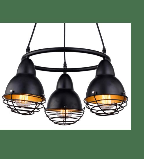 V.E.G โคมไฟลอฟท์   TFLS-009 สีดำ