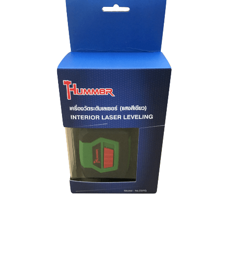 HUMMER เครื่องวัดระดับเลเซอร์ (แสงสีเขียว) NLC07G สีเขียว