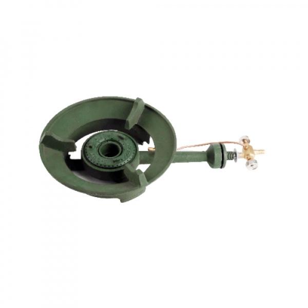 CLOSE เตาหัวฟู่  (เกลียวทองเหลือง)  CI/BV0001-CI  สีเขียว