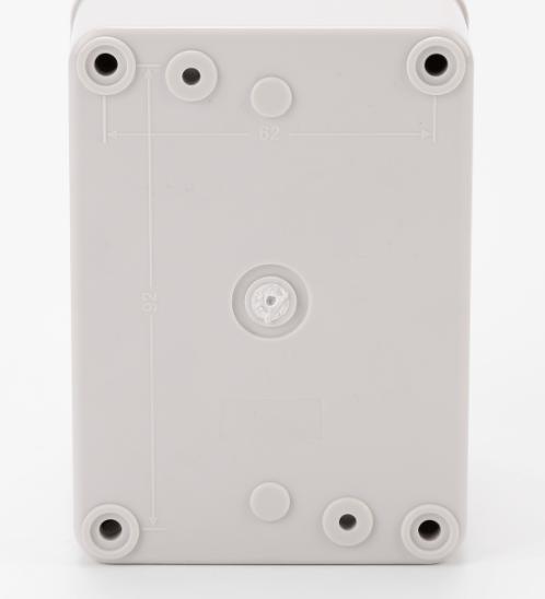 V.E.G กล่องกันน้ำพลาสติกTHE-03 110x110x85mm. V.E.G  ขาว