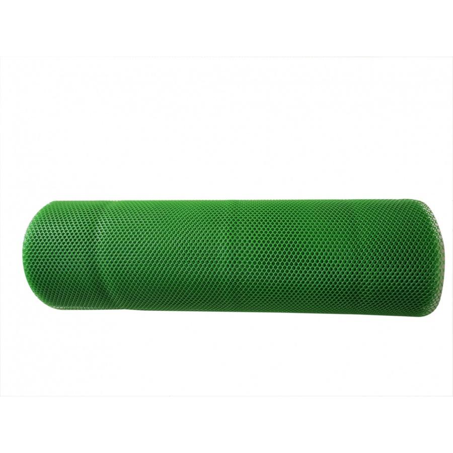 POLLO ตาข่ายพลาสติกหกเหลี่ยม 9มิล 30x0.9ม  PQS-AY017-G สีเขียว