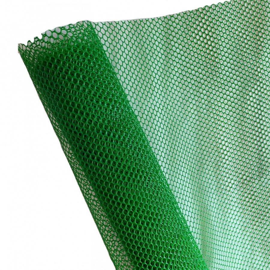 POLLO ตาข่ายพลาสติก หกเหลี่ยม 12มม. 90ซม.x10 เมตร. LXPN09012G สีเขียว