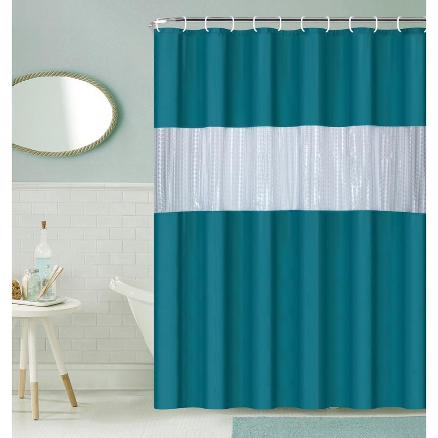 Primo ผ้าม่านห้องน้ำ PEVA ขนาด 180x200 ซม. EDJJ09-GN สีเขียว