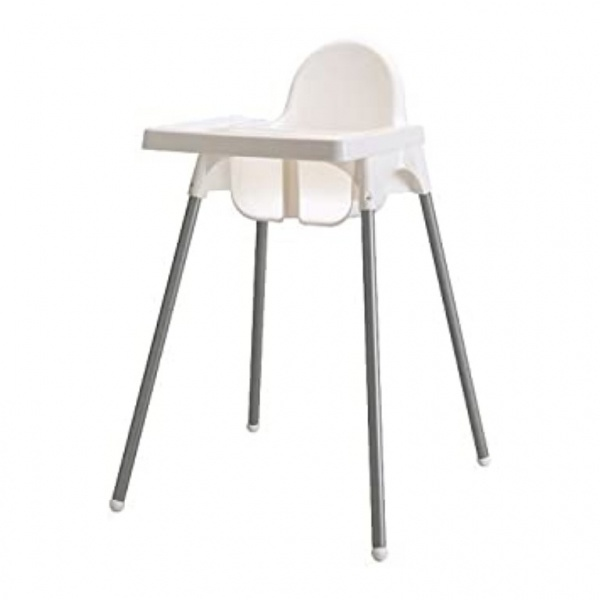 Primo Kids เก้าอี้ทานข้าวสำหรับเด็ก 2DCY003 สีขาว