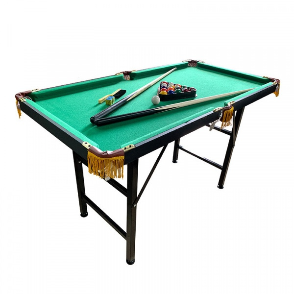 FORTEM โต๊ะพูลพร้อมอุปกรณ์ 6YX002 พับเก็บได้ สีเขียว-ดำ
