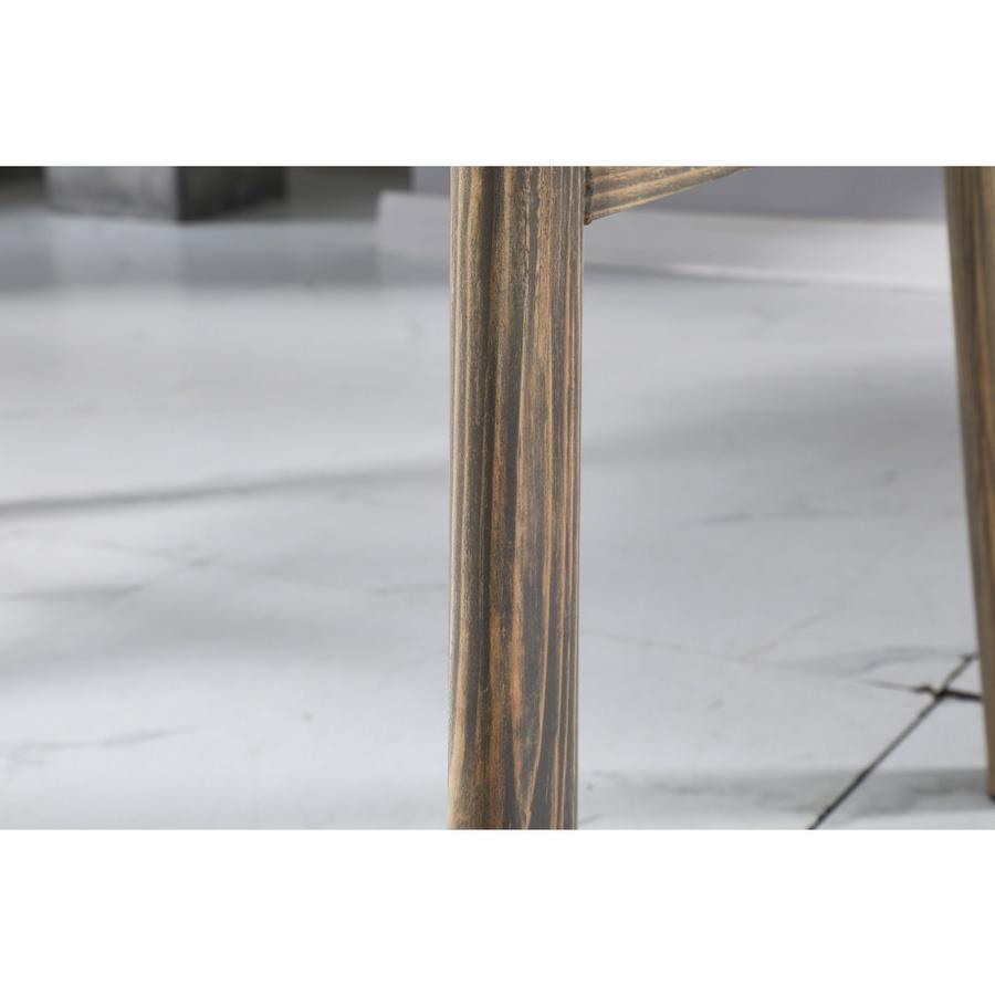Delicato โต๊ะอาหารรอนนี่ ขนาด 120x70x75 ซม ลายไม้ HK-DW12070