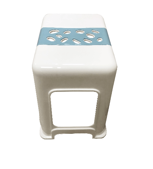 GOME เก้าอี้พลาสติก  ZH014-WBU สีขาว