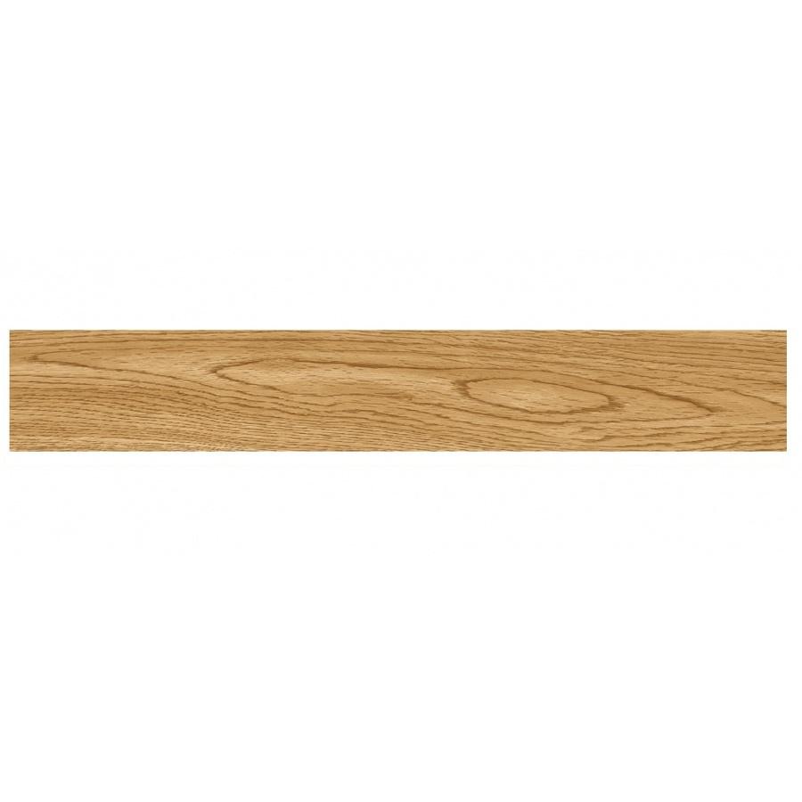 TAPIO กระเบื้องยางหลังกาว ขนาด 1524x9144x2mm   Wood middle brown 2PBJ002 (2.23m2/box) (16P) สีน้ำตาลอ่อน