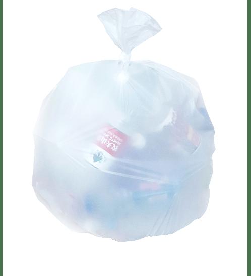 "ICLEAN ถุงขยะ Iclean  มีหู หนาพิเศษ ขนาด 30""x40"" บรรจุ 10 ใบ/แพ็ค สีขาว DZH004-WH สีขาว"