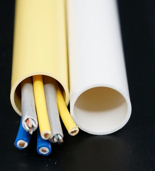 ท่อร้อยสายไฟเหลือง 3/8 นิ้ว (15) HDLY18 สีเหลือง