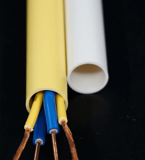 ท่อร้อยสายไฟ 3/4 นิ้ว (20) HDLY26 สีเหลือง