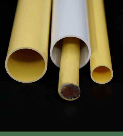 V.E.G ท่อร้อยสายไฟ-สีขาว ขนาด  1/2 นิ้ว HDLY22-3MW ขาว